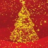 Blänka julgranen Royaltyfria Foton