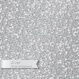 blänka silvertextur Royaltyfri Foto