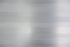 blänka slät metall arkivfoto