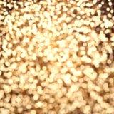 Blänker abstrakt bakgrund för guld- jul, det festliga kortet, guld Royaltyfri Bild