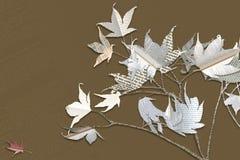 Blätter des Buchpapiers Stockbild