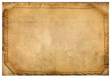 Blätter des Pergaments Stockfotografie