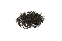Blätter des schwarzen Tees Lizenzfreie Stockfotos