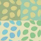 Blätter. Muster lizenzfreie abbildung