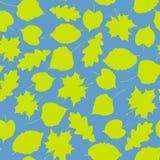 Blätter. Nahtlos Lizenzfreie Abbildung