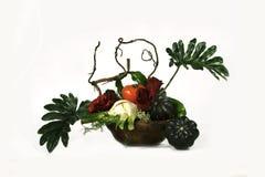 Blätter und Gemüse Lizenzfreie Stockfotos