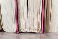 Blätter von Büchern Stockfoto