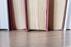 Blätter von Büchern Stockfotografie