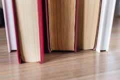 Blätter von Büchern Stockbild