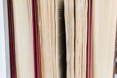Blätter von Büchern Stockbilder