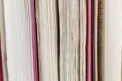 Blätter von Büchern Lizenzfreie Stockfotografie