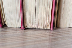 Blätter von Büchern Lizenzfreies Stockbild