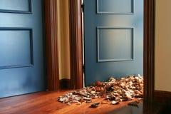 Blätter zuhause Lizenzfreies Stockfoto