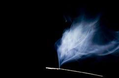Bläulicher Rauch Lizenzfreies Stockfoto