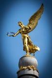 Blå ängel Royaltyfri Fotografi