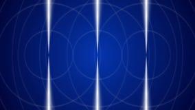 Blå öglasrörelsebakgrund stock video