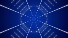 Blå öglasrörelsebakgrund lager videofilmer