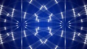 Blå öglasrörelsebakgrund arkivfilmer