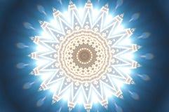 Blå östlig prydnad vektor illustrationer