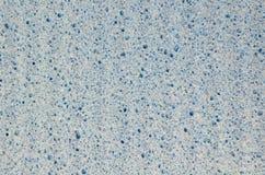Blå abstrakt bakgrund av tygmaterial Royaltyfria Foton