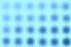 Blå abstrakt bakgrund, cirklar som är sömlösa Arkivbilder