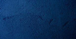 Blå abstrakt bakgrund för modell för malladvertizingkort Royaltyfri Fotografi