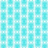 Blå abstrakt bakgrund i etnisk stil Royaltyfri Bild