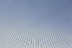 Blå abstrakt bakgrund med linjer Royaltyfri Foto