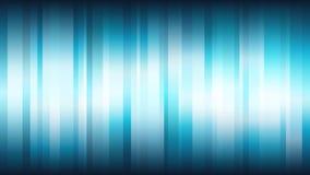 Blå abstrakt bakgrund med vertikala skinande band Royaltyfri Fotografi