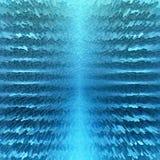 Blå abstrakt designbakgrund stock illustrationer