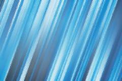 Blå abstrakt glass texturbakgrund eller modell, idérik designmall Fotografering för Bildbyråer