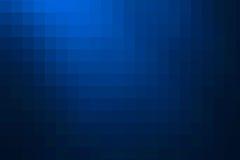 Blå abstrakt mosaikbakgrund Royaltyfri Bild