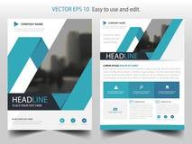 Blå abstrakt vektor för mall för etikettbroschyrdesign Affisch för tidskrift för affärsreklamblad infographic Abstrakt orienterin vektor illustrationer