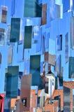 Blå abstraktion Royaltyfri Fotografi