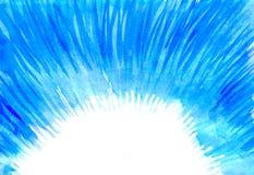 Blå abstraktion Fotografering för Bildbyråer