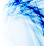 Blå affärsbroschyr, abstrakt bakgrund Arkivbild