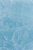 Blå is av Baikal Royaltyfri Foto