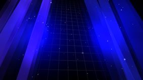 Blå bakgrund a vektor illustrationer