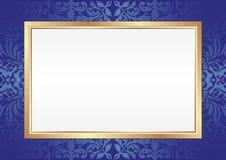 Blå bakgrund Royaltyfria Bilder