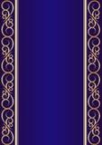 Blå bakgrund Royaltyfria Foton