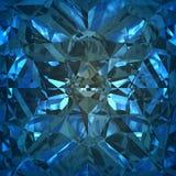 Blå bakgrund av smyckengemstonen Royaltyfri Bild