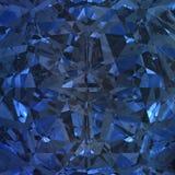 Blå bakgrund av smyckengemstonen Royaltyfria Foton