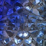 Blå bakgrund av smyckengemstonen Arkivfoto