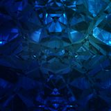 Blå bakgrund av smyckengemstonen Fotografering för Bildbyråer