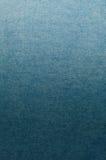 Blå bakgrund för grov bomullstvilljeanstextur Fotografering för Bildbyråer