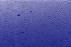 Blå bakgrund för lilor - vattendroppar lagerför foto royaltyfria bilder