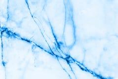 Blå bakgrund för marmormodellabstrakt begrepp arkivbild