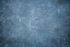 Blå bakgrund för studio för kanfas- eller muslintygtorkduk royaltyfri fotografi