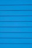 Blå bakgrund för trä Royaltyfri Fotografi