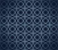 Blå bakgrund med lutning Arkivbild